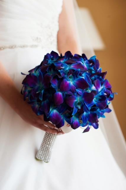 Purple Turquoise Carlys Aqua Orchid Wedding At Clarks Landing Yacht Club